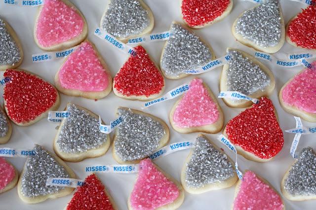 Hershey Kiss Sugar Cookies Recipe