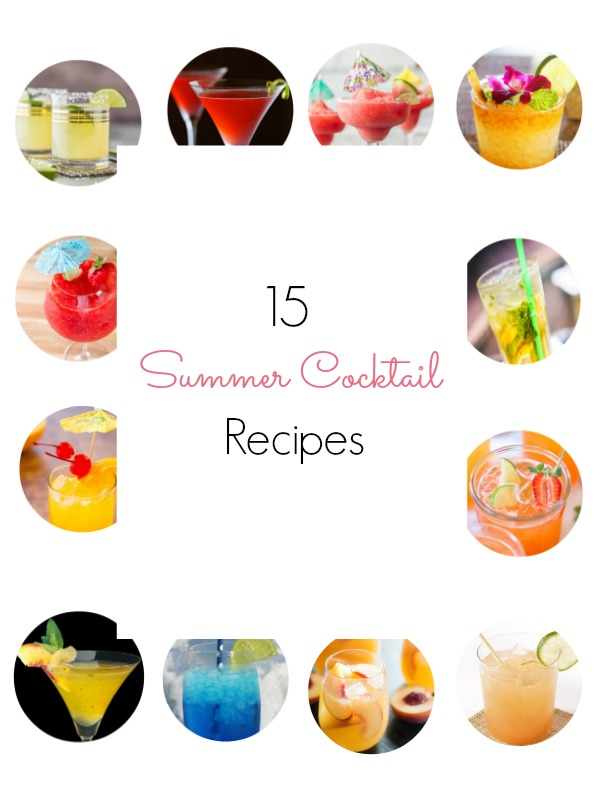 Summer Coctail Recipes Round Up - Ioanna's Notebook