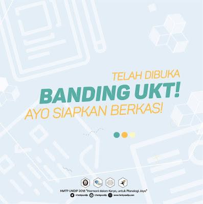 Info Pengajuan Keringanan UKT/ Banding UKT