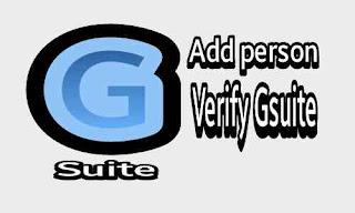 Cara Menambah Orang dan verifikasi Akun Google Suite Baru