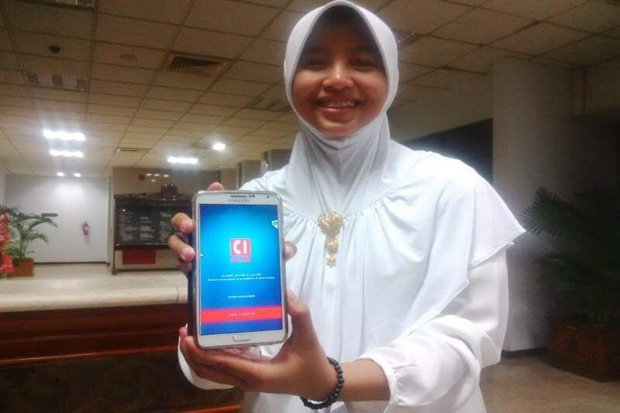 Gadis Asal Kebumen Ciptakan Aplikasi Tandingan WhatsApp