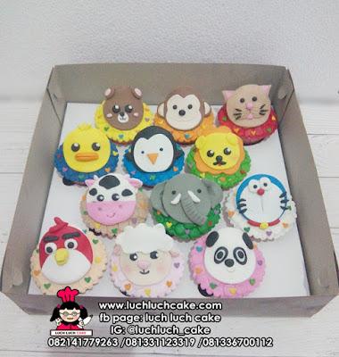 Cupcake Kartun Lucu - Lucu