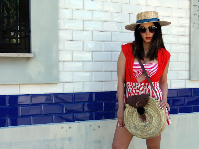 fashion, moda, look, outfit, blog, blogger, walking, penny, lane, streetstyle, style, estilo, trendy, rock, boho, chic, cool, casual, ropa, cloth, garment, inspiration, fashionblogger, art, photo, photograph, Avilés, oviedo, gijón, asturias, hat, summer, verano, etnico, ethnic, candas, rays, stripes, vestido, dress, mimbre,