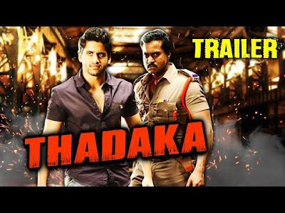 Tadakha 2016 Hindi Dubbed DTHRip 700MB , South indian movie Tadakha hindi dubbed 720p dvdrip 700mb brrip bluray 1gb free download or watch online at https://world4ufree.to