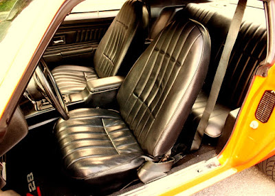 1973 Chevrolet Camaro Z28 2-Door Coupe Seat Interior
