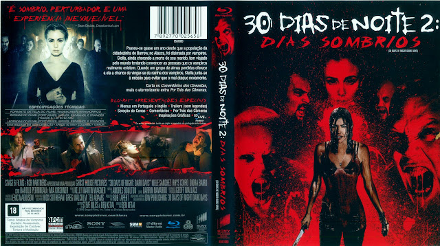 Capa Blu-ray 30 Dias de Noite 2 Dias Sombrios