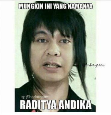10 Meme 'Andika Eks Kangen Band' Ini Awet Banget Ngakaknya, Legend Abis!