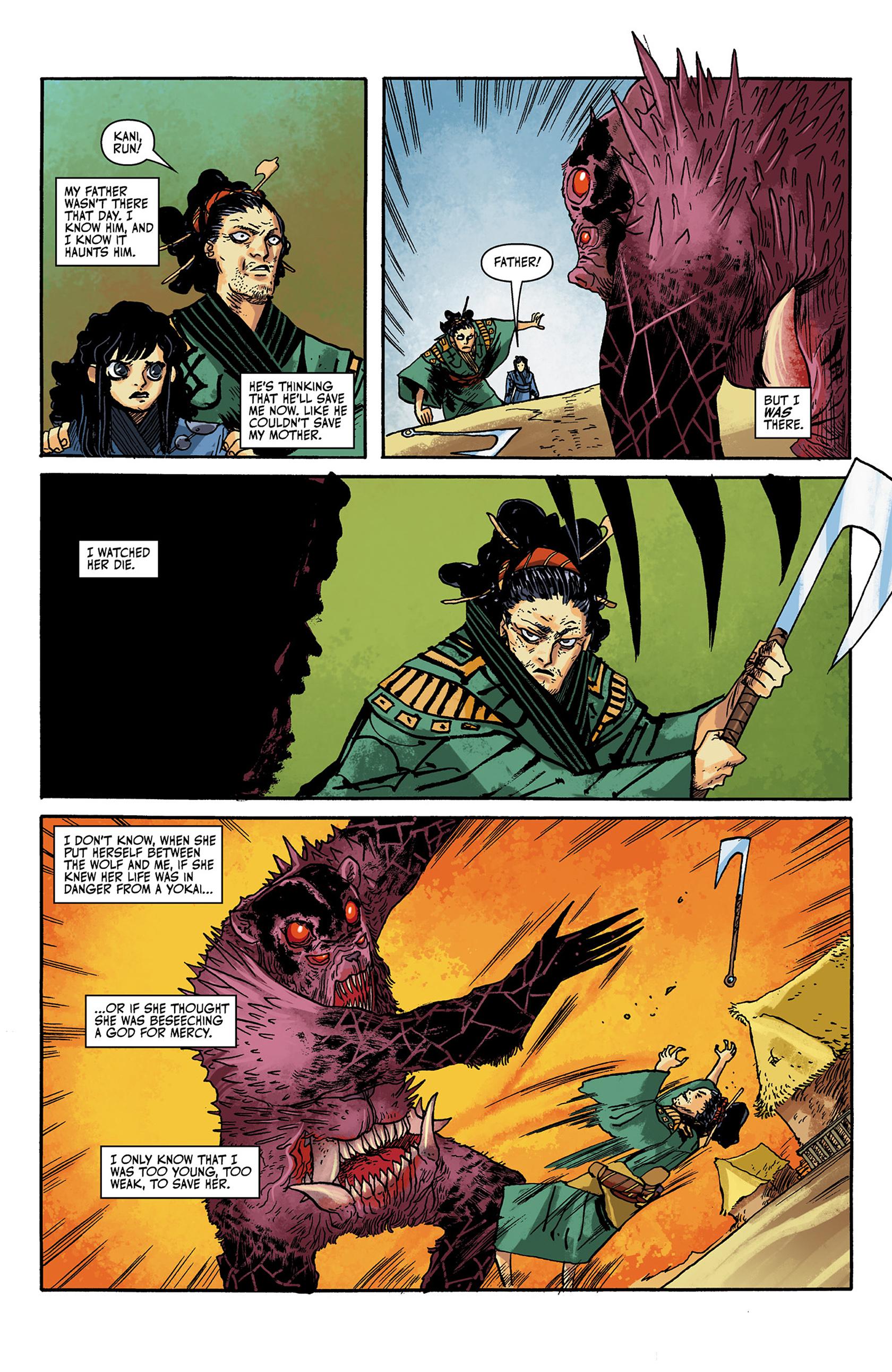 Read online Akaneiro comic -  Issue #1 - 8