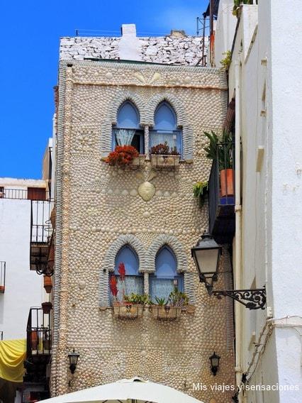 La casa de las conchas, Peñíscola, Castellón