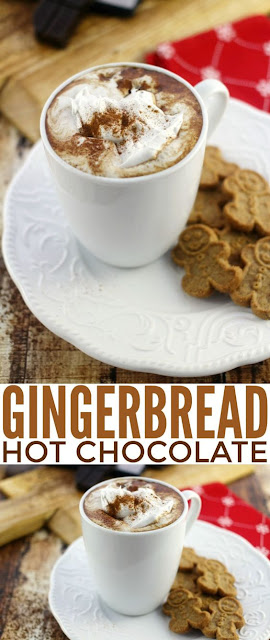 GINGERBREAD HOT CHOCOLATE RECIPE IHOP