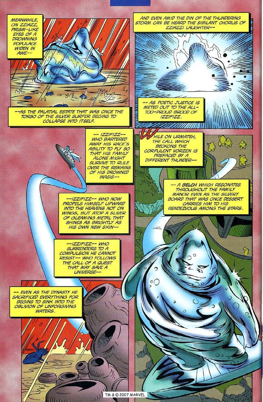 Read online Silver Surfer (1987) comic -  Issue #116 - 28