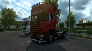 Scania 4 Open Pipe V8 Sound