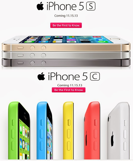 iPhone 5s, iPhone 5c are coming to Smart and Globe on November 15, 2013