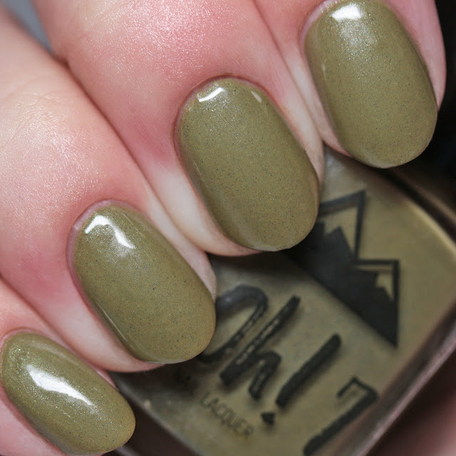 "3 Oh! 7 Nail Lacquer Unbe""leaf""able"