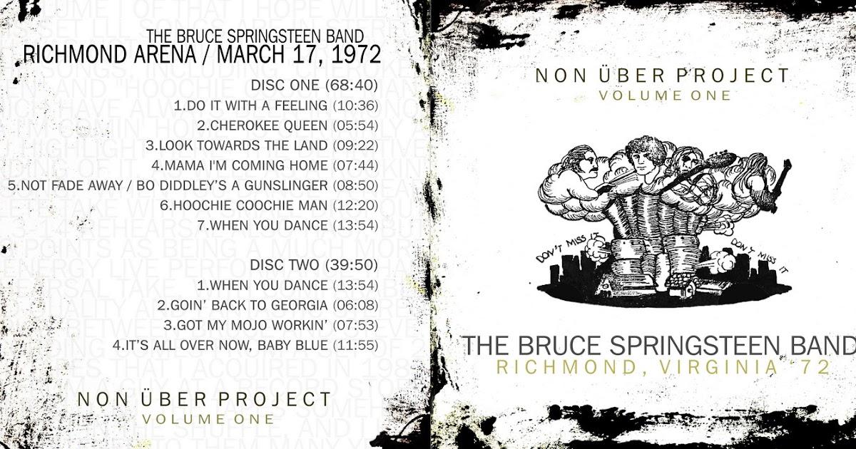 What Is Uber Wav >> T.U.B.E.: Bruce Springsteen - 1972-03-17 - Richmond, VA (SBD/FLAC)