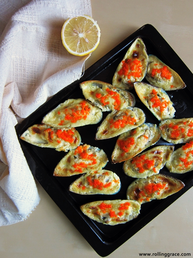 oven baked mussel recipes