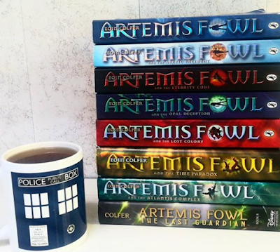 Artemis Fowl Series Reread: My Thoughts