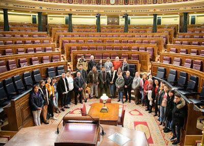 Visita al Congreso de los Diputados 2018