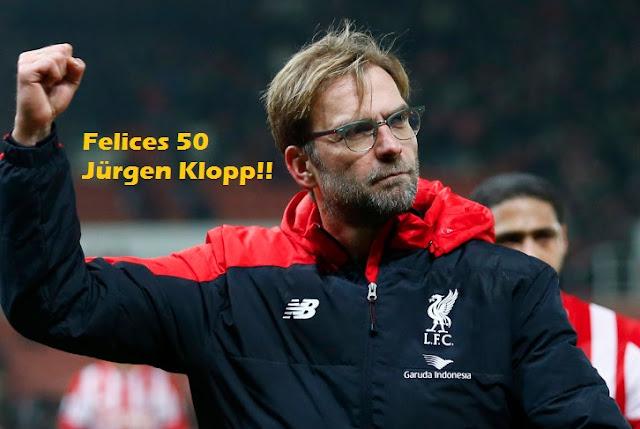 Felices 50 Jürgen Klopp  | DT del Liverpool