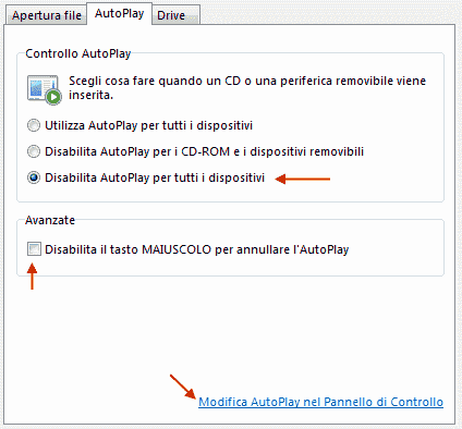 GT - File e Drive/AutoPlay