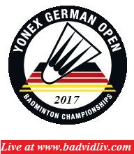 Yonex German Open 2017 live streaming and videos