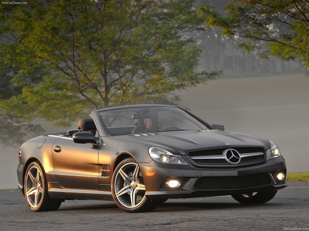 Mercedes Benz 2011 Mercedes Benz Sl550 Night Edition