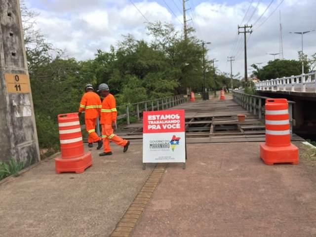 Obras já iniciaram e ponte de pedestres da Avenida dos Africanos será totalmente recuperada