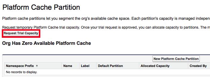 Infallible Techie: Platform Cache in Salesforce