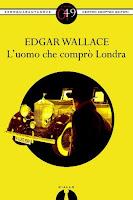 L'uomo che comprò Londra Edga Wallace copertina