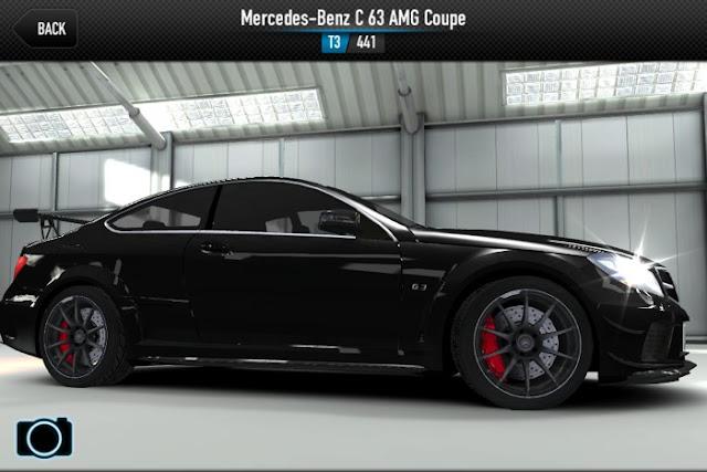 C63 AMG CSR Racing