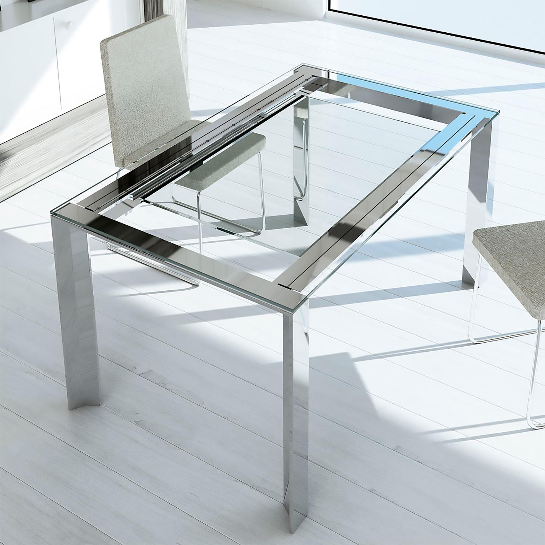 Mesas de comedor mesas de comedor extensibles de cristal - Mesa comedor extensible moderna ...