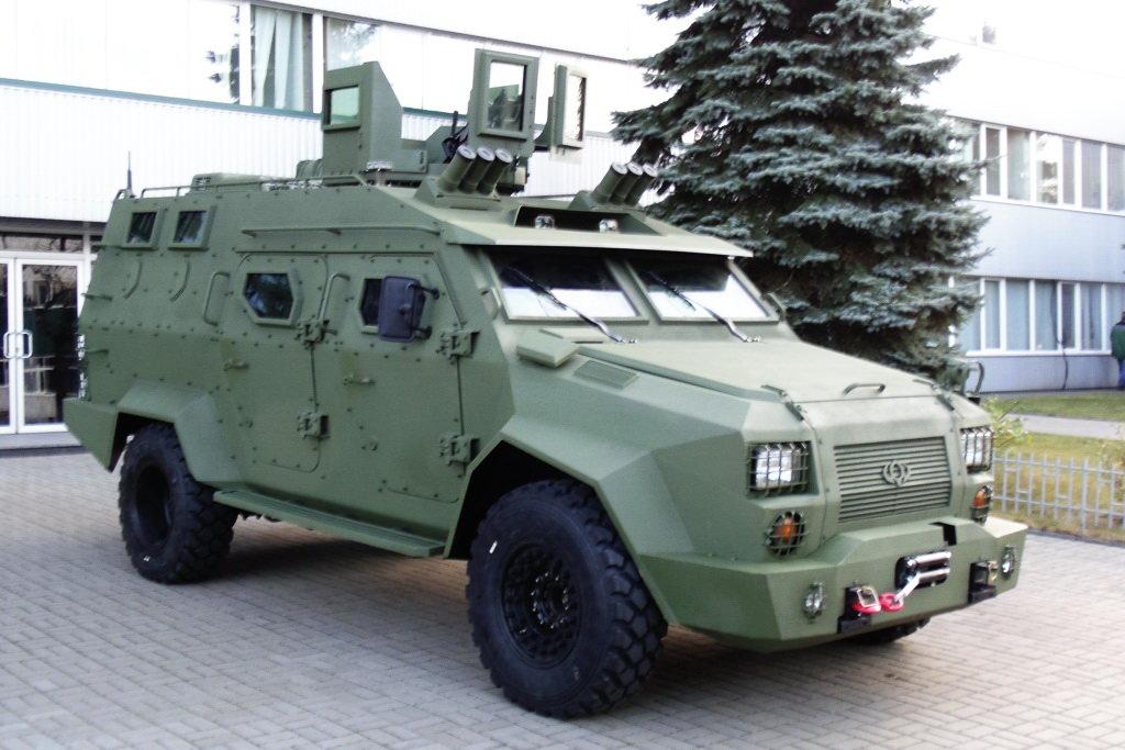 Бронеавтомобіль «Барс-8» версія 2016 року
