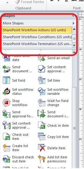 SharePoint Talk: Designing and Creating Workflows with Visio