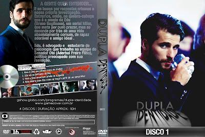 Capa DVD Dupla Indentidade Primeira Temporada D1 a D4
