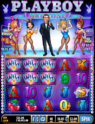play playboy hot zone slot for free