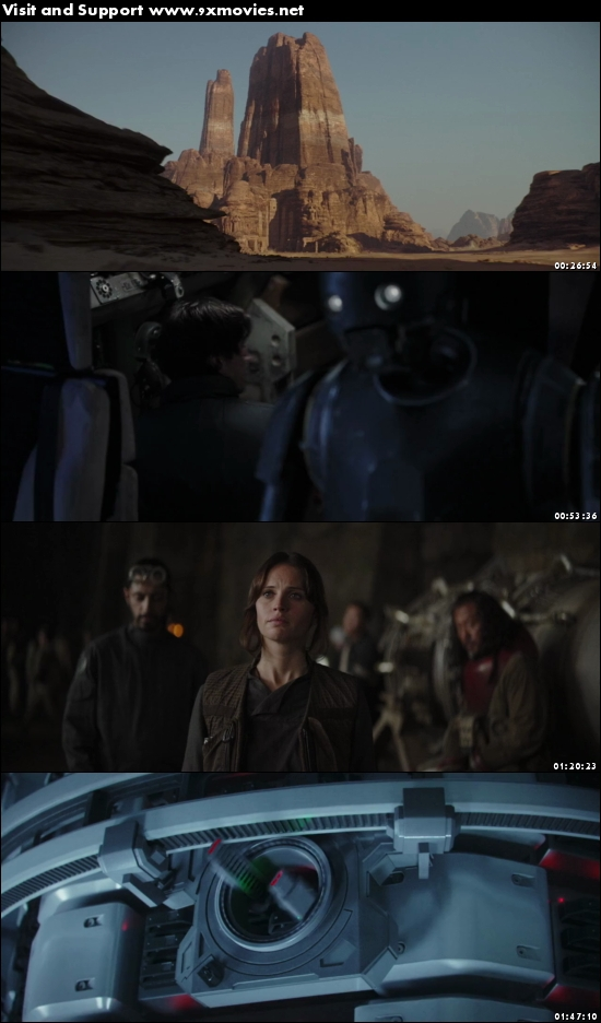 Rogue One 2016 English 480p BRRip