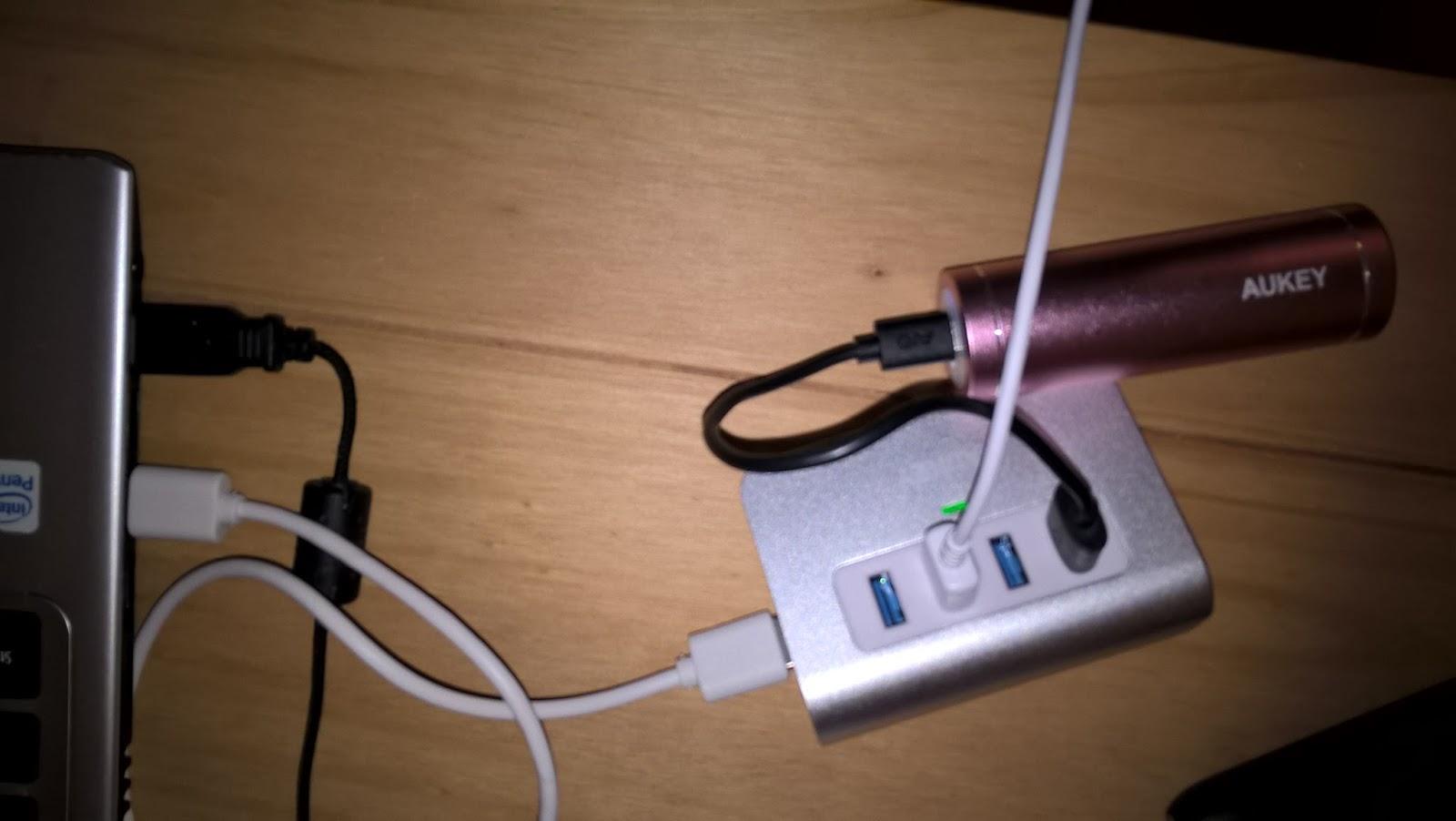 Jennys Testwelt : AUKEY USB 3.0 Hub 4 Port Super Speed ...