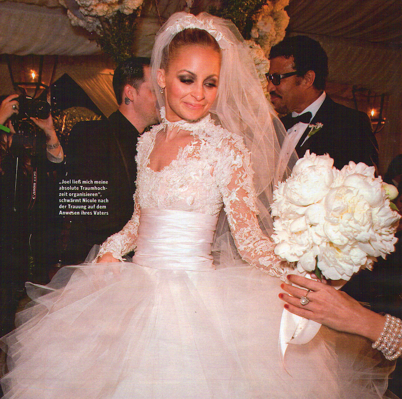 Nicole Richie Wedding Gown: All About DIY: Was Haben Kate Middleton, Nicole