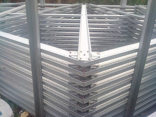 jarak reng baja ringan atap galvalum proyek rangka di smk muhammadiyah 6 ...