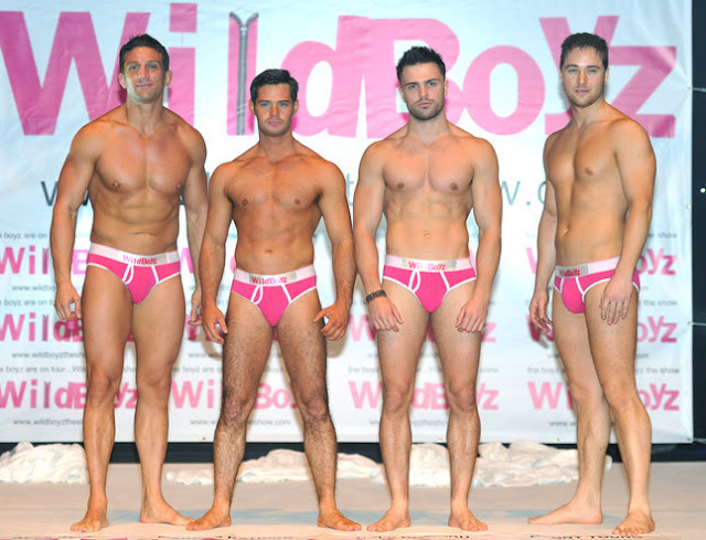 From left to right: Alex Reid, Danny Young, Dale Howard and Marcus Patrick • 'WildBoyz'