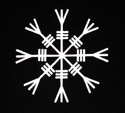 Real Rune Magick Gishjlmur The Helm Of Awe What Does It Truly