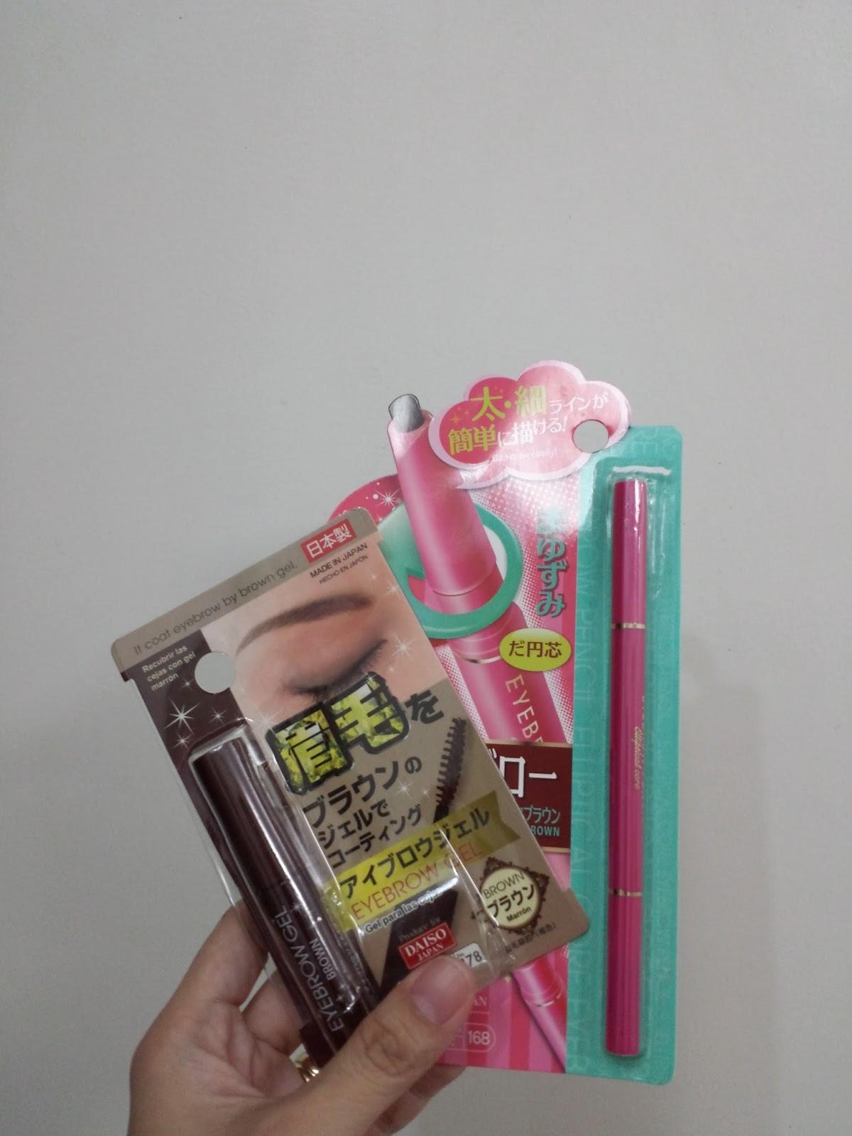Mommy A Etude House Vs Daiso Eyebrow Pencil And Brow Gel