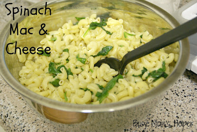 Spinach Mac and Cheese