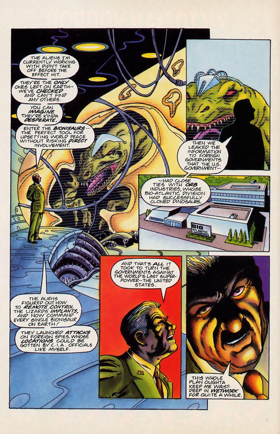 Read online Turok, Dinosaur Hunter (1993) comic -  Issue #18 - 20
