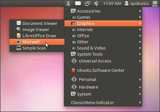 Classic Menu Indicator Shows Up In A New Version - Ubuntu 11 10