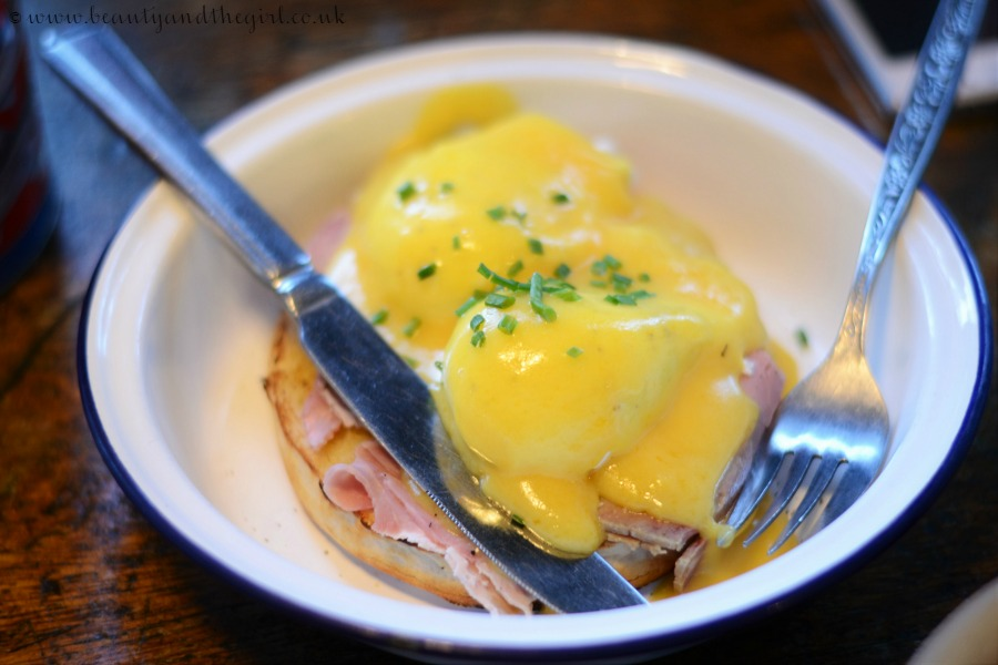 Boston Tea Party Eggs Benedict
