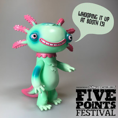 Five Points Festival Exclusive Wooper Looper Mint Edition Vinyl Figure by Gary Ham
