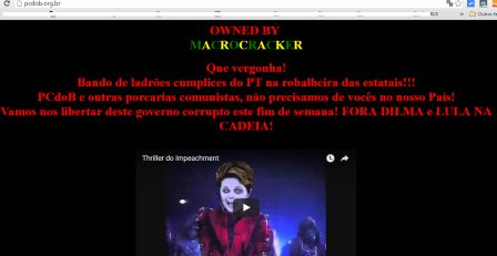 Hackers se unem e atacam sites a favor de DILMA
