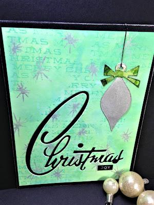 Sara Emily Barker http://sarascloset1.blogspot.com/ Retro Christmas Card Christmas Joy 1