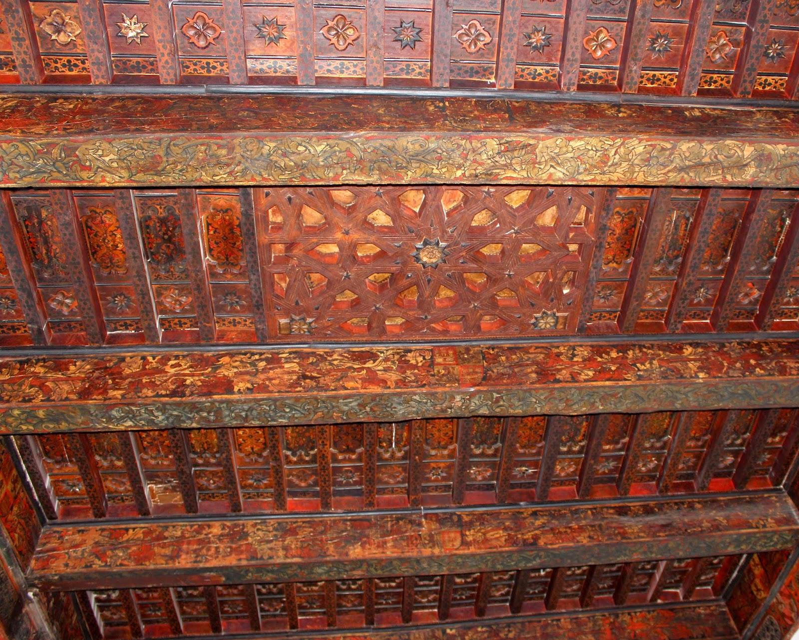 Artesonado del palacio de los Condestables en Jaén